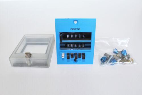 2008 come nuovo Festo PZ PZV-S-E PNEUM Preassegna contatore 8605 serie 08605 W