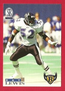 Details about RAY LEWIS 1996 Score Board Exxon football ROOKIE card Baltimore Ravens NFL Rc **