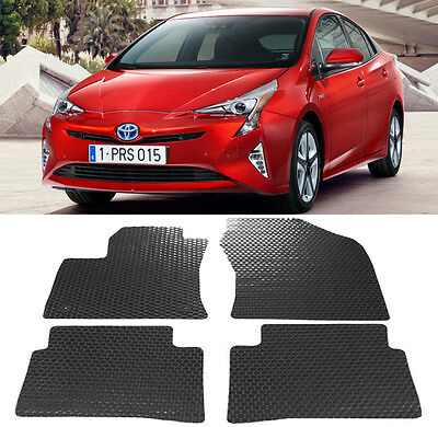 For 2016-2018 Toyota Tacoma All Weather Rubber Floor Mats Liners Front 2PCS