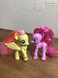 Hasbro 2015 My Little Pony G4 Explore Equestria Pinkie & Fluttershy Bundle Pie