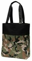 Military Camo Tote Bag Shopper Teacher Nurse Purse Handbag Beach Book Day Bag