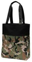 Military Camo Tote Bag Shopper Teacher Nurse Purse Handbag Beach Book Day Bag