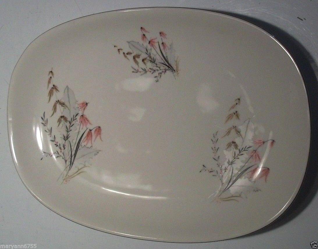 Vtg 15  Oval Royal Duchess Mountain Bell Bavaria Germany Platter Plate @ cLOSeT