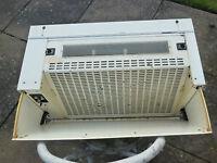 White De Dietrich HW4615 E1 60cm integrated hood extractor fan heavy duty- £900