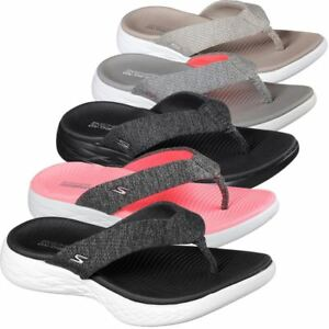 Skechers Sandals Performance Women S On The Go 600 Preferred Flip Flop Ebay
