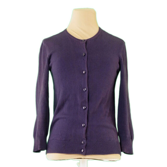 Marc Jacobs Cardigan lila Woman Authentic Used L2329