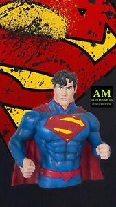 Dc-Comics-New-52-Superman-Money-Bust-Bank-Piggy-Bank-New-Orig-Packaging