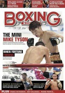 BOXING-MONTHLY-Magazine-JAPAN-S-MINI-MIKE-TYSON-Nagoya-Inque-MAY-2019-UK-Edition