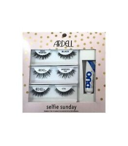 994fd28033c ARDELL Selfie Sunday Lash Kit 3 Pairs Lashes + Duo Adhesive Demi ...