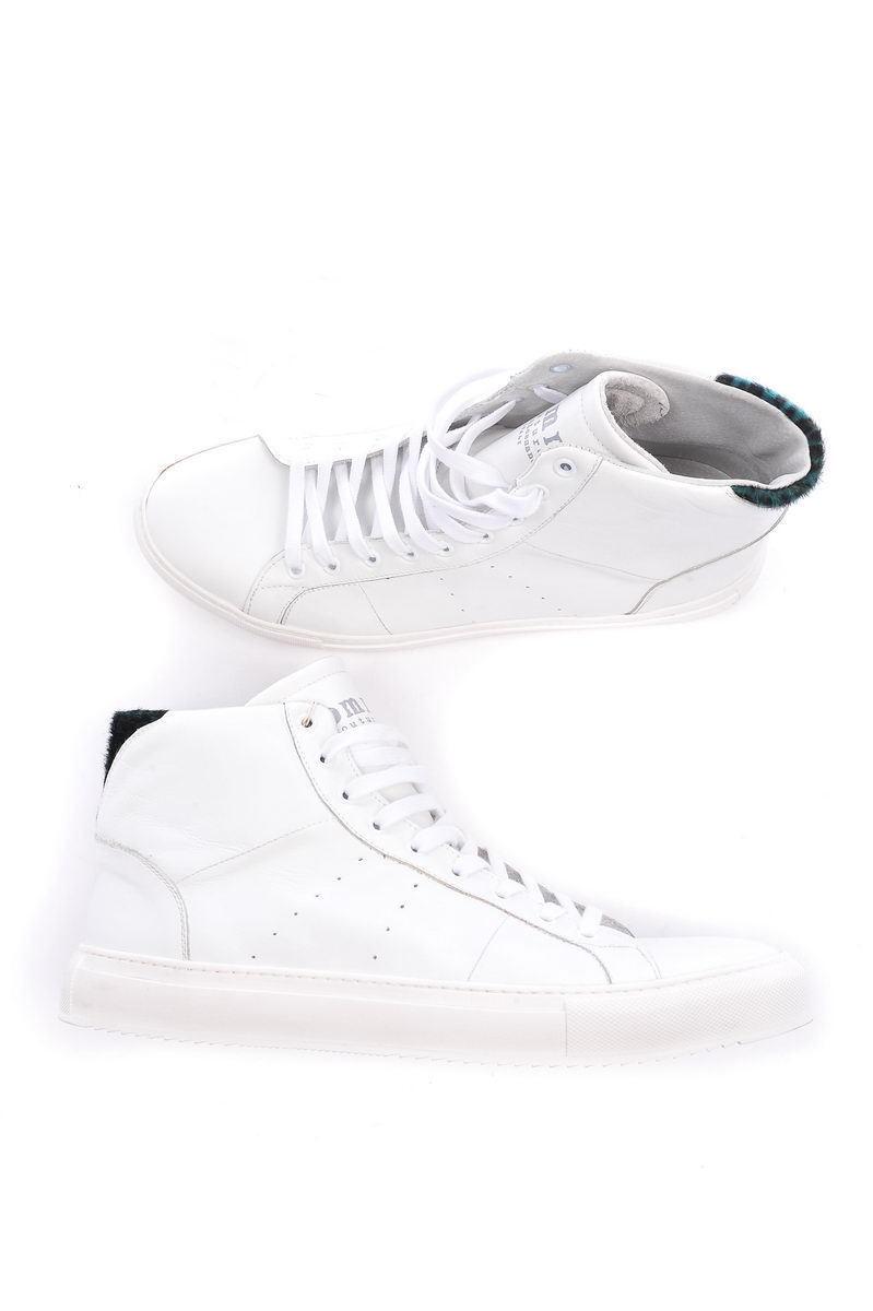 Daniele Alessandrini Ankle stivali MADE IN ITALY Man bianca F013K313407 233