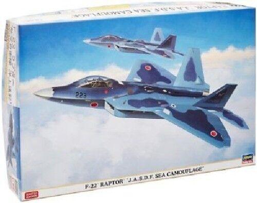 Hasegawa 1 72 F-22 RAPTOR J. A. S. D. F. Mar Camuflaje Kit de Modelismo Nuevo De