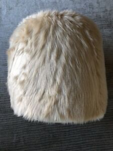 Swell Details About Ottoman Stool Pouf Foot Rest Accent Modern Style Faux Fur Seat Round Furniture Pdpeps Interior Chair Design Pdpepsorg