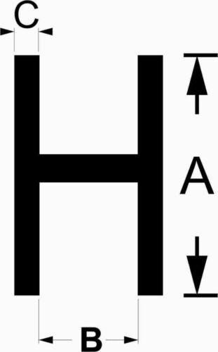 Acrylglas H-Profil für 6 mm Platten transparent farblos 8,99€//m