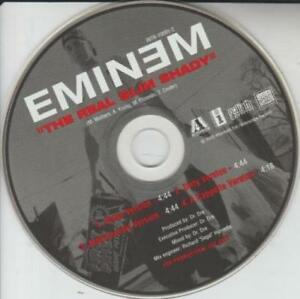 Details about Eminem: The Real Slim Shady PROMO MUSIC AUDIO CD Clean Dirty  A Cappella Instrume