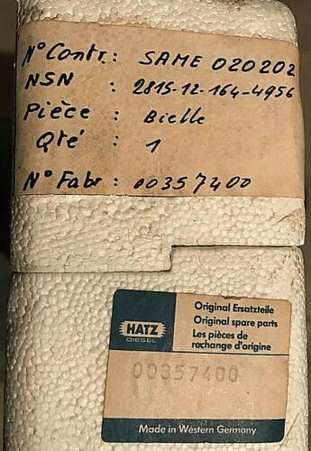 Hatz 00357400 Pleuelstange mit Schöpflöffel Kurbelwelle Kolben Motor Rüttelpatte