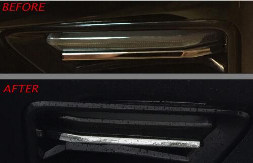 Smoke 20/% Vinyl Tint 16CC/_FLS 2016-2018 Camaro SS Front LED Strip Lights