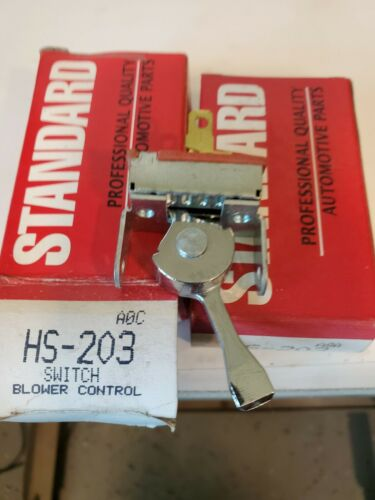 HVAC Blower Control Switch Front Standard HS-203