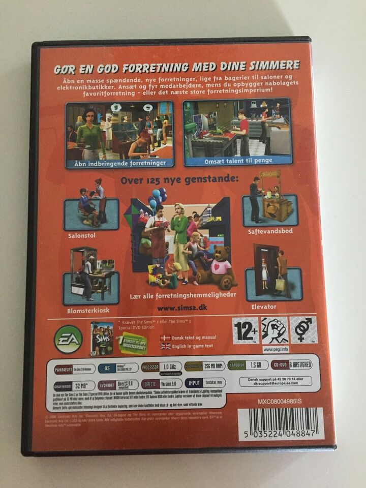 The Sims2 - Open for business, til pc, anden genre