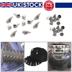 17mm-Silver-Metal-Dragon-Claw-Spike-Studs-Rivet-Screwback-for-DIY-Leathercraft