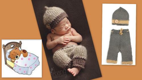 ★★★ NEU Baby Fotoshooting Kostüm Kleines Schlafmützchen 0-3 Monate ★★★Nr.C