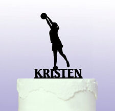 Personalised Netball Cake Topper