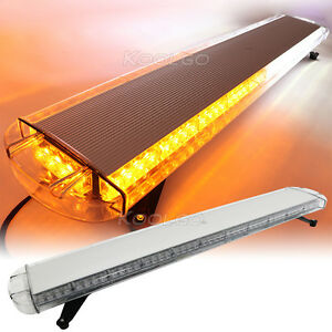 51 96w 96 led beacon light bar emergency vehicle roof top warning image is loading 51 034 96w 96 led beacon light bar aloadofball Image collections