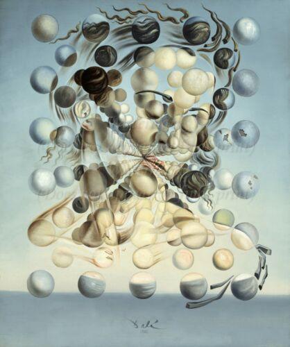 "SALVADOR DALI Surrealism Art Poster or Canvas Print /""Galatea of the Spheres/"""