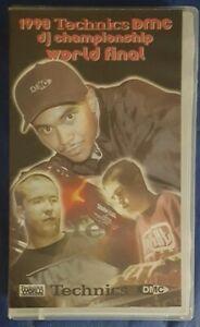 DMC-World-Final-1998-Championship-Video-VHS-France-DJ-turntablism-Scratch