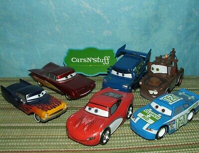 Mike /& More *Displayed Only* Disney Store Pixar Cars: R.S. Sarge Loose Greta