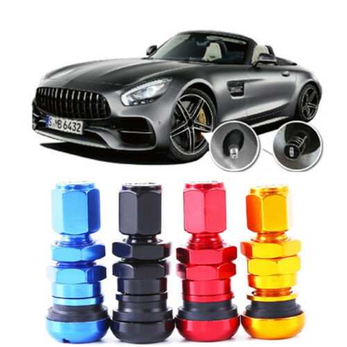 Aluminum Valve Stems With Caps For Tire Wheel Rim Car Truck