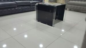 Details About 600x600 Off White High Gloss Polished Porcelain Floor Tiles Pre Sealed