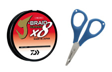 Daiwa J-braid Grand 8x 150yds Gray Light Jbgd8u8-150gl for sale online