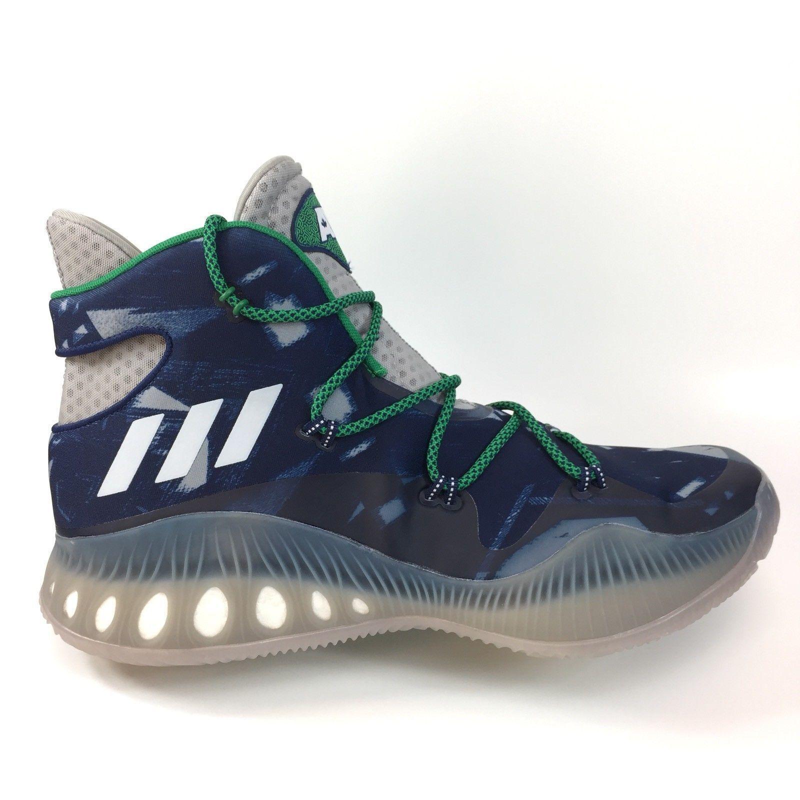 Adidas Men AW Crazy Schuhe Explosive ANDREW WIGGINS Basketball Schuhe Crazy BB8345 NAVY Blau 17 dd76d2