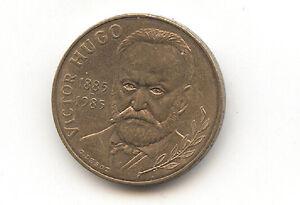 Piece-monnaie-France-10-francs-1985-Victor-Hugo