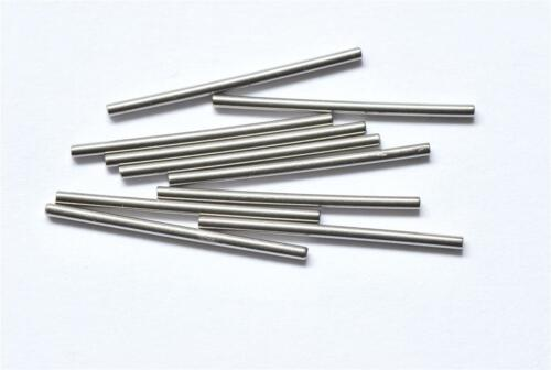 10 x SOLID STAINLESS STEEL PINS FOR SWATCH CHRONO WATCHES 23mm LONG