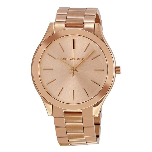 Michael Kors Runway Rose Gold-tone Ladies Watch MK3197