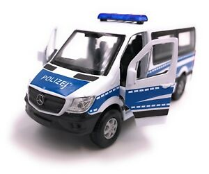 Mercedes-Benz-Sprinter-Polizei-Modellauto-Auto-LIZENZPRODUKT-1-34-1-39