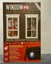 Animated Christmas & Halloween Projector Atmos Window FX Decorating Display Kit
