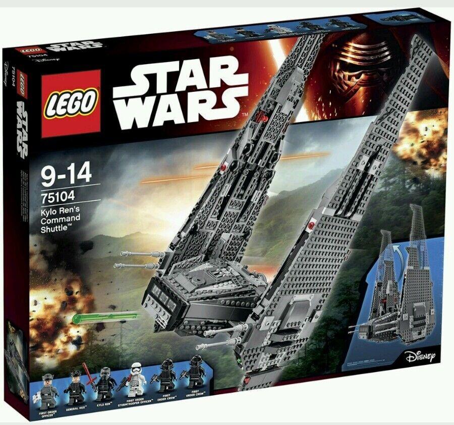 Kylo Ren's Command Shuttle LEGO Star Wars 75104 NEW IN BOX