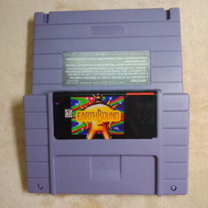 Details about Earthbound SNES 16 Bit NTSC Game Card For USA Version Free  Shipping