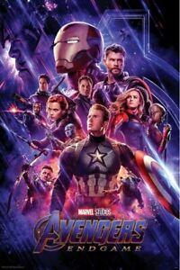 Avengers-4-Endgame-One-Sheet-POSTER-61x91cm-NEW-End-Game-Iron-Man-Thanos-Captain