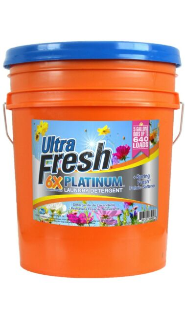 Laundry Detergent Fundraiser Dishwashing Liquid 5 Gallon Bucket