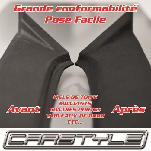 ADHESIF EFFET SUEDINE-DAIM Conformable pose facile competition racing auto