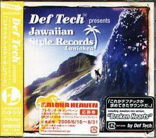 Def Tech Jawaiian Style Record Laniakea Japan CD - NEW