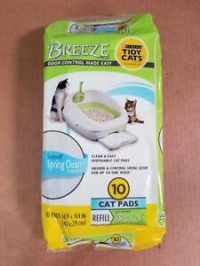 Tidy-Cat-Breeze-Refill-Pads-Spring-Clean-Scent-10pk-6-Pack-Bundle
