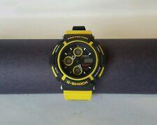 Super Rare Casio G shock Mudman AW570 Yellow Band Watch From Japan Mint