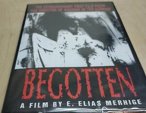Begotten-DVD-2001-All-Region-Black-amp-White-NTSC-Brand-New