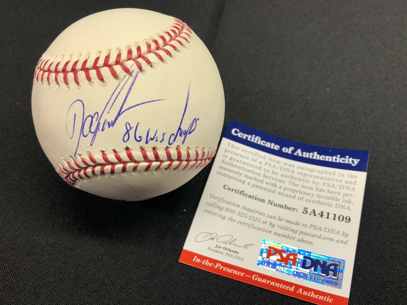 Dwight Gooden Signed Shea Stadium Major League Baseball
