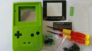 Avoir Un Esprit De Recherche Étui Complet + Ecran Compatible Game Boy Couleur Mario Molle Green Nouveau / Le Plus Grand Confort