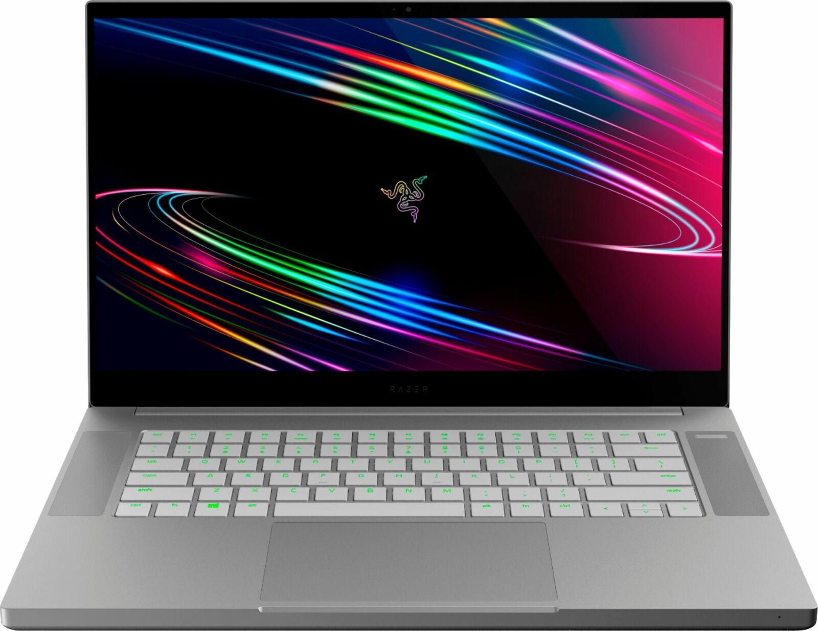 Razer Blade 15 (RZ09-03287EM2-REFB) 15.6″ OLED 4K 60Hz Gaming Laptop, 10th Core i7 6-Core, 16GB RAM, 512GB SSD